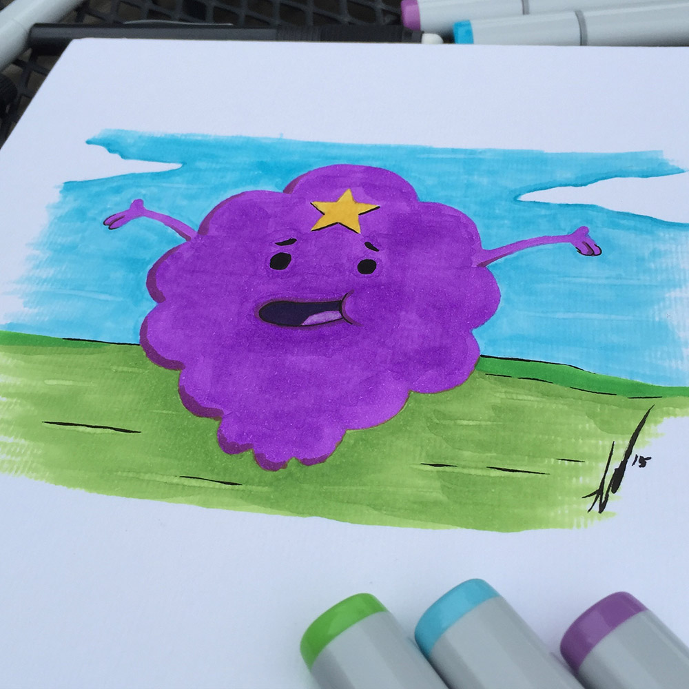What The Lump?  Copic LSP Is So Hot!