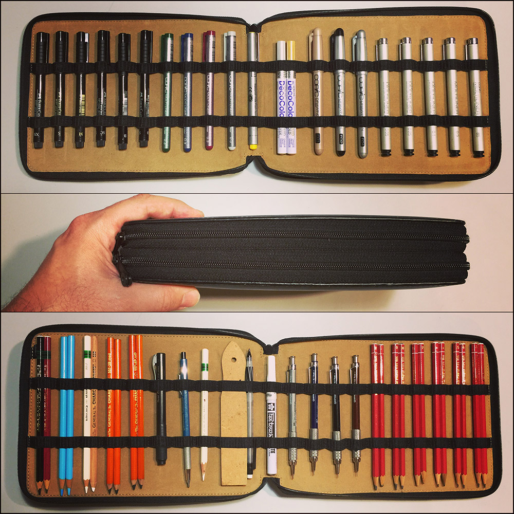 My Art Case For Pencils and Pens