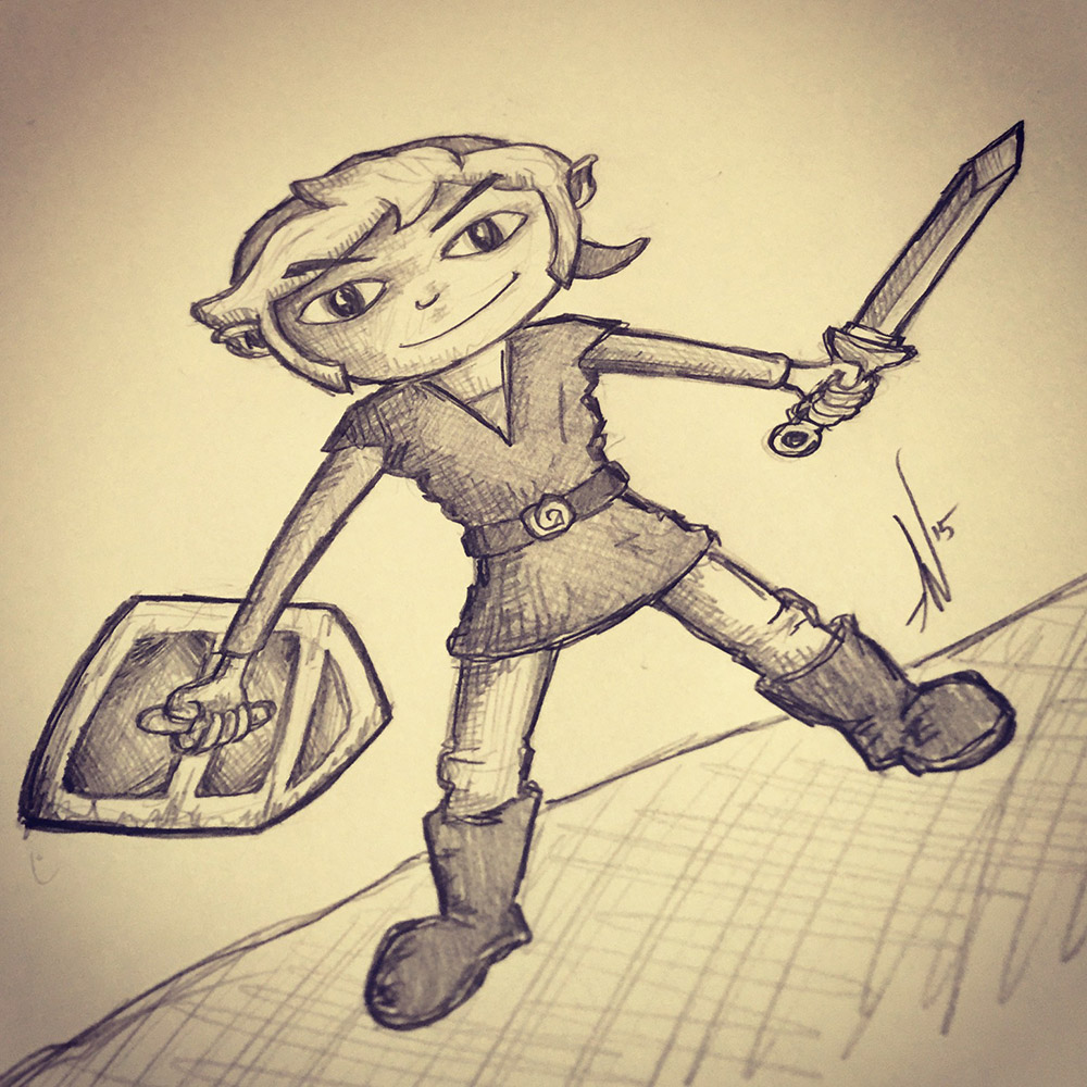 My Son Requested Zelda's Link