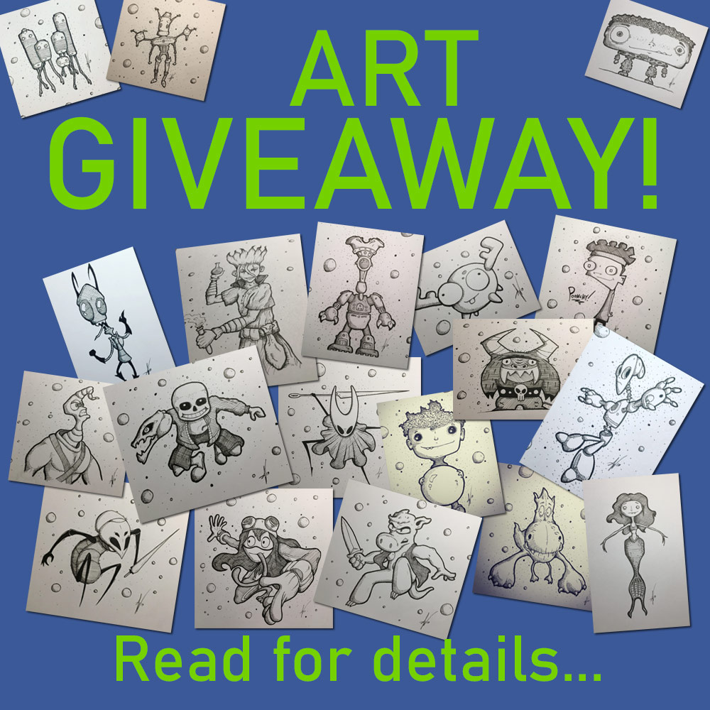 Win Free Artwork from Augiewan
